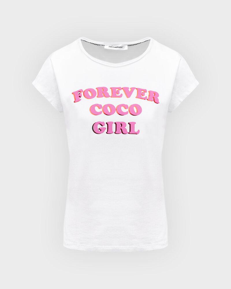 T-Shirt Co'Couture 73123_4000 biały - fot:1