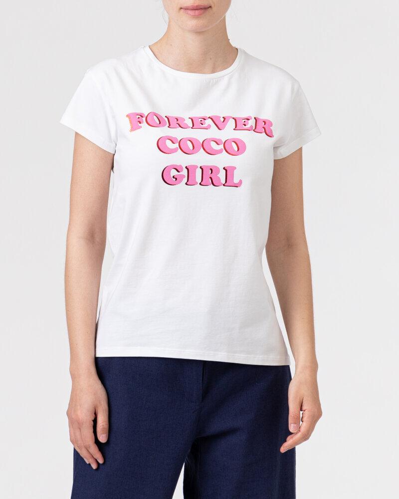 T-Shirt Co'Couture 73123_4000 biały - fot:2
