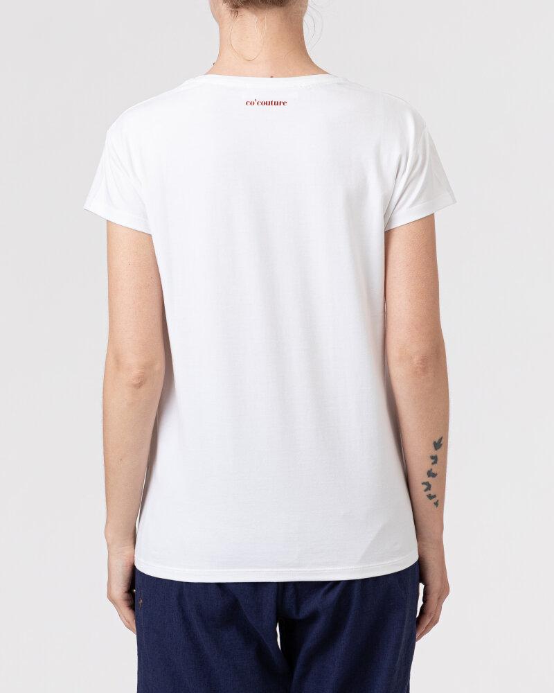 T-Shirt Co'Couture 73123_4000 biały - fot:4