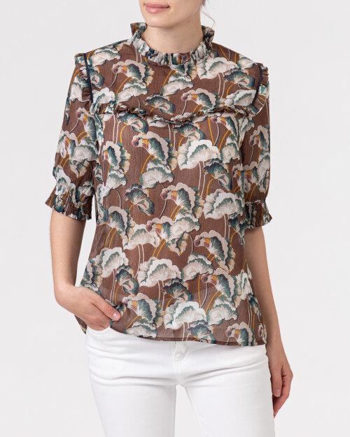 Bluzka Co'Couture 75757_ALYA_128 COGNAC brązowy