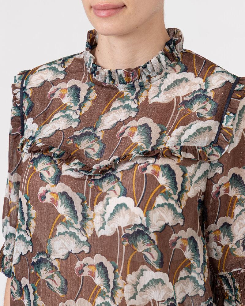 Bluzka Co'Couture 75757_ALYA_128 COGNAC brązowy - fot:3