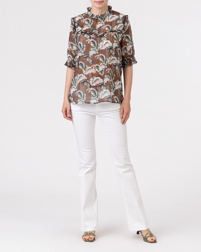 Bluzka Co'Couture 75757_ALYA_128 COGNAC brązowy - fot:5