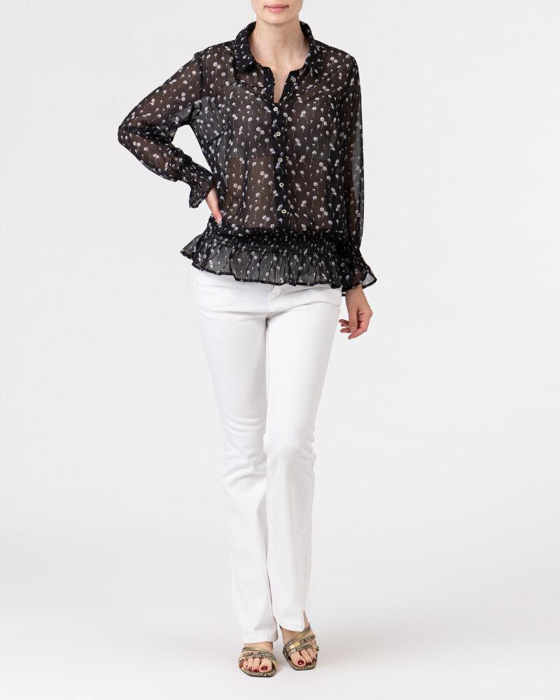 Bluzka Co'Couture 75807_DAISY_96 BLACK czarny - fot:5