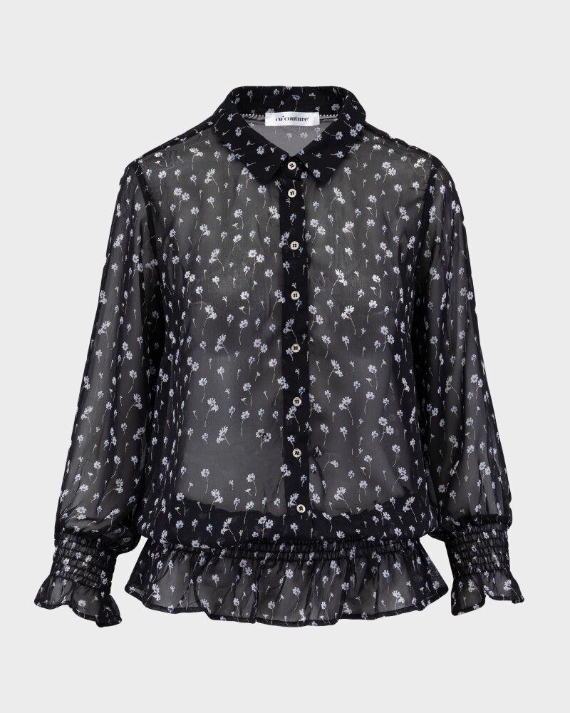 Bluzka Co'Couture 75807_DAISY_96 BLACK czarny - fot:1