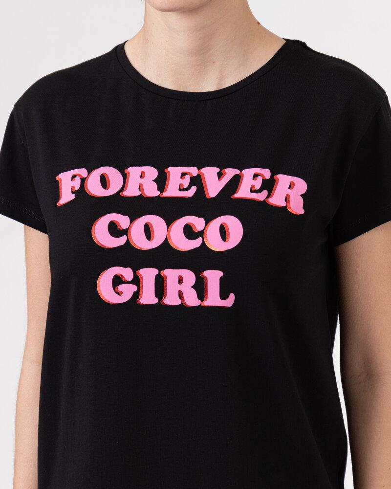 T-Shirt Co'Couture 73123_96 czarny - fot:3