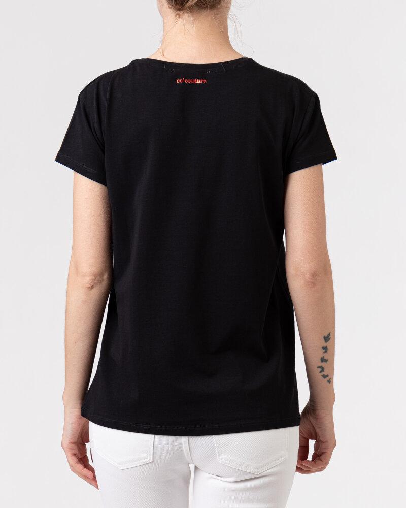 T-Shirt Co'Couture 73123_96 czarny - fot:4