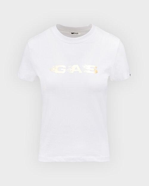 T-Shirt Gas A1237_DOLL S.GAS FLAMES   _0001 biały