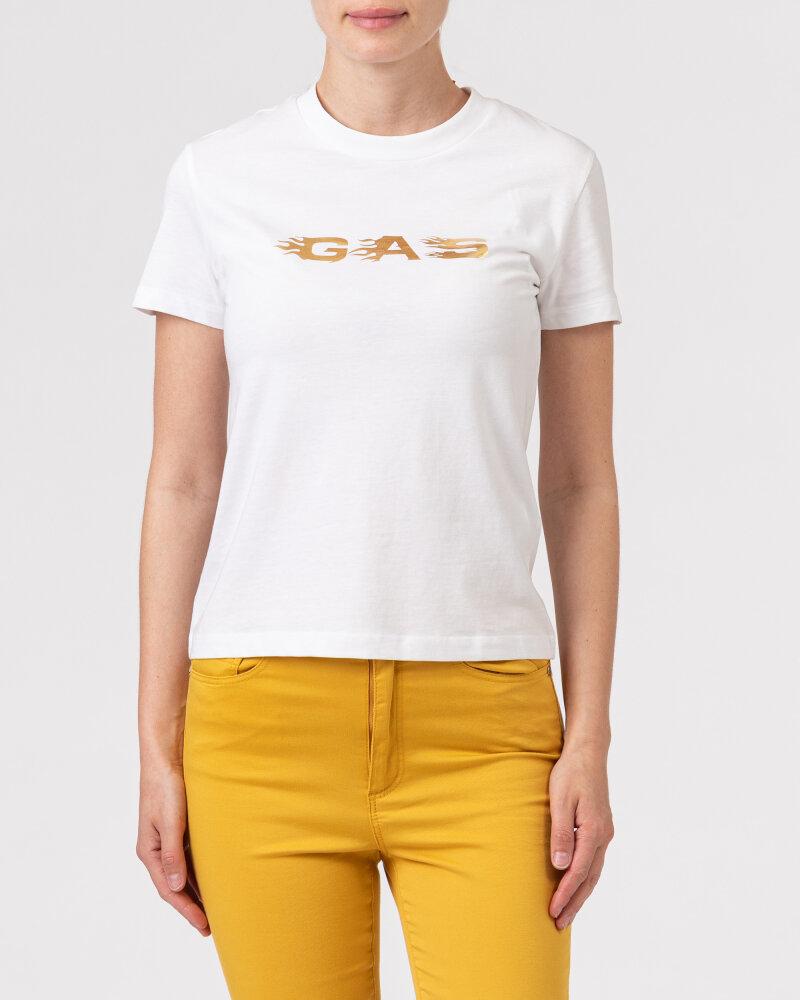 T-Shirt Gas A1237_DOLL S.GAS FLAMES   _0001 biały - fot:2