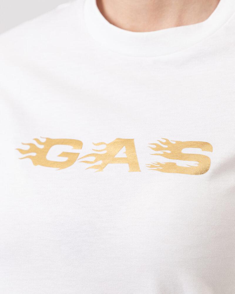 T-Shirt Gas A1237_DOLL S.GAS FLAMES   _0001 biały - fot:3