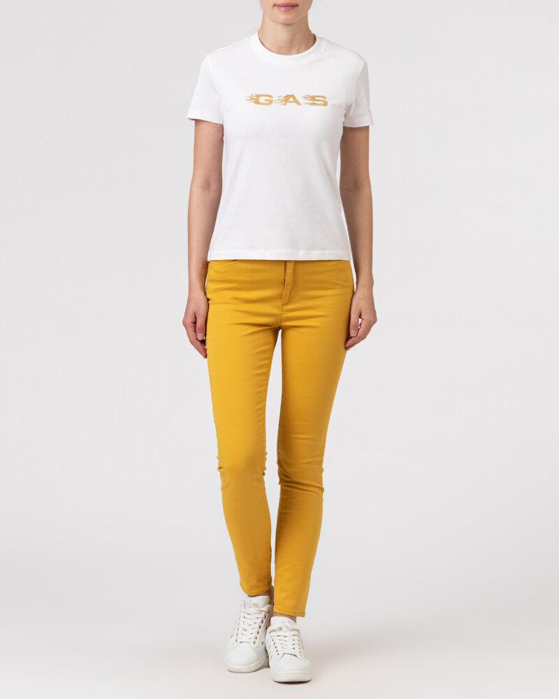 T-Shirt Gas A1237_DOLL S.GAS FLAMES   _0001 biały - fot:5