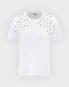 T-Shirt Gas A1302_FRANCYS STUDS       _0001 biały