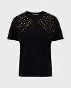 T-Shirt Gas A1302_FRANCYS STUDS       _0200 czarny