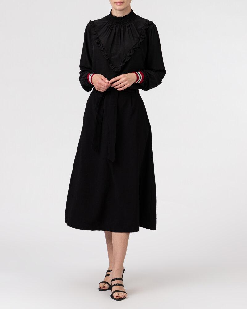 Bluzka Co'Couture 75520_FELINE FRILL_96 BLACK czarny - fot:5