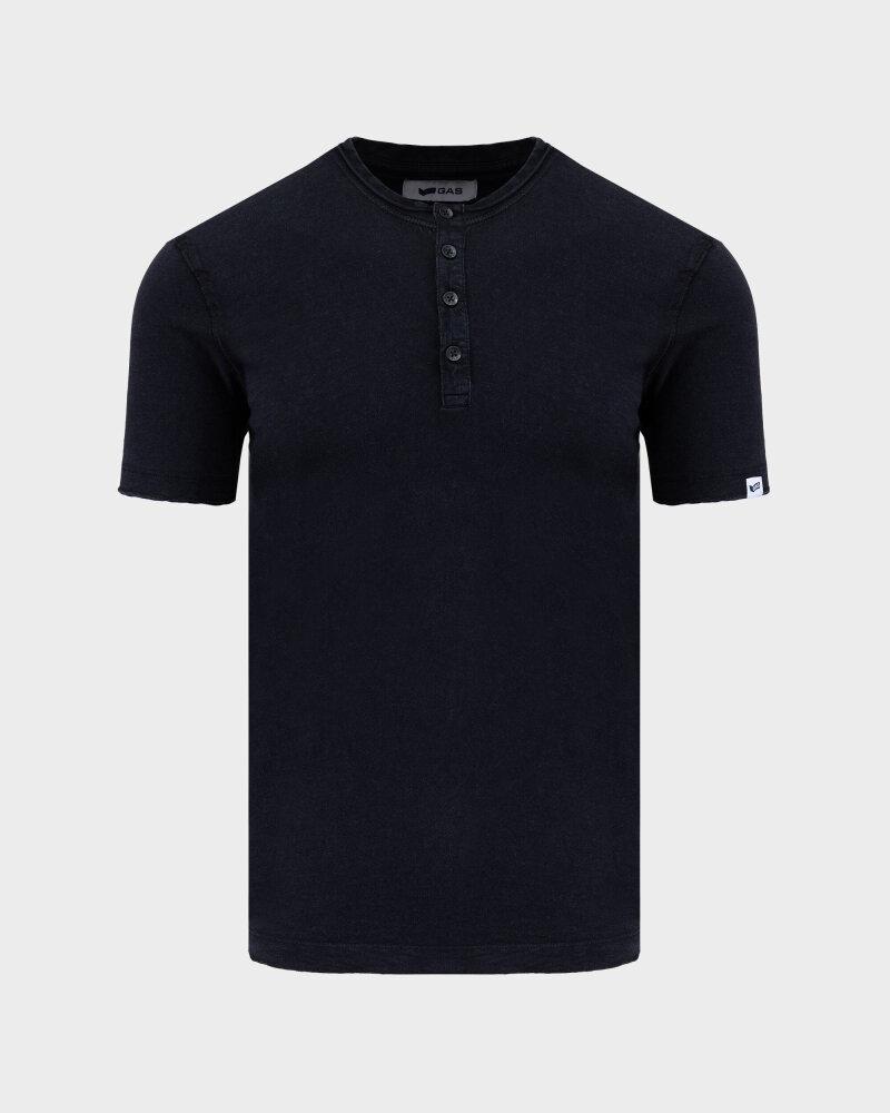 T-Shirt Gas 99638_DHIREN/S SER.       _0200 czarny - fot:1