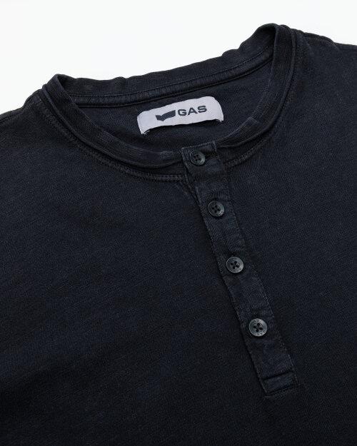 T-Shirt Gas 99638_DHIREN/S SER.       _0200 czarny