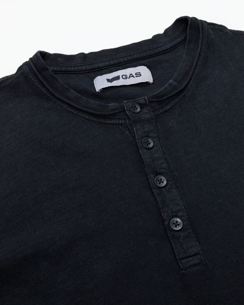 T-Shirt Gas 99638_DHIREN/S SER.       _0200 czarny - fot:2