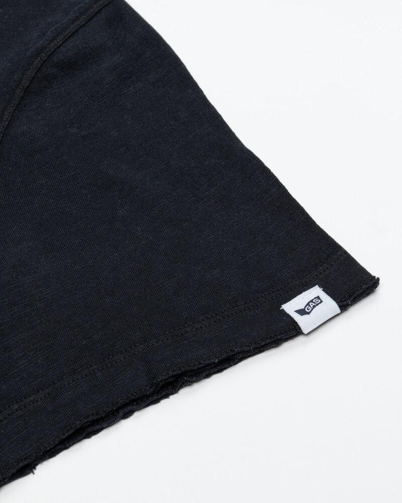 T-Shirt Gas 99638_DHIREN/S SER.       _0200 czarny - fot:3