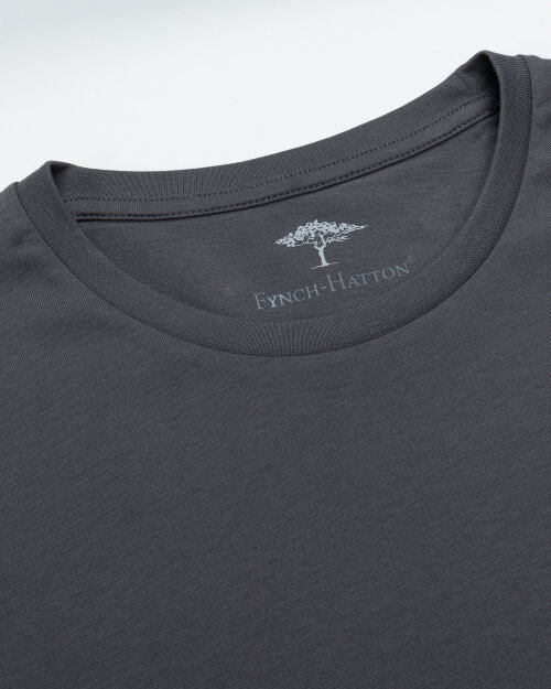 T-Shirt Fynch-Hatton SNOS1500_970 grafitowy
