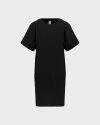 Sukienka Bomboogie AW6956_FLCU_90 czarny