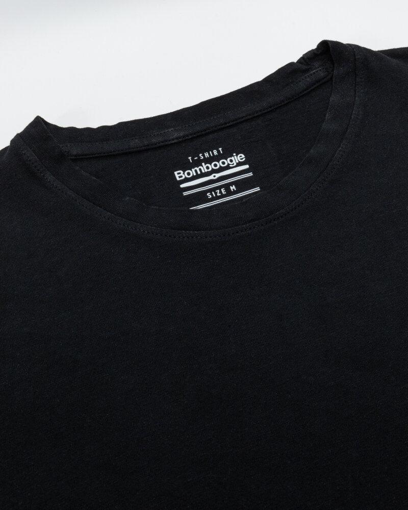 T-Shirt Bomboogie TM7007_JSNM_90 czarny - fot:2