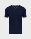 T-Shirt Bomboogie TM6355_JSNS_205 granatowy