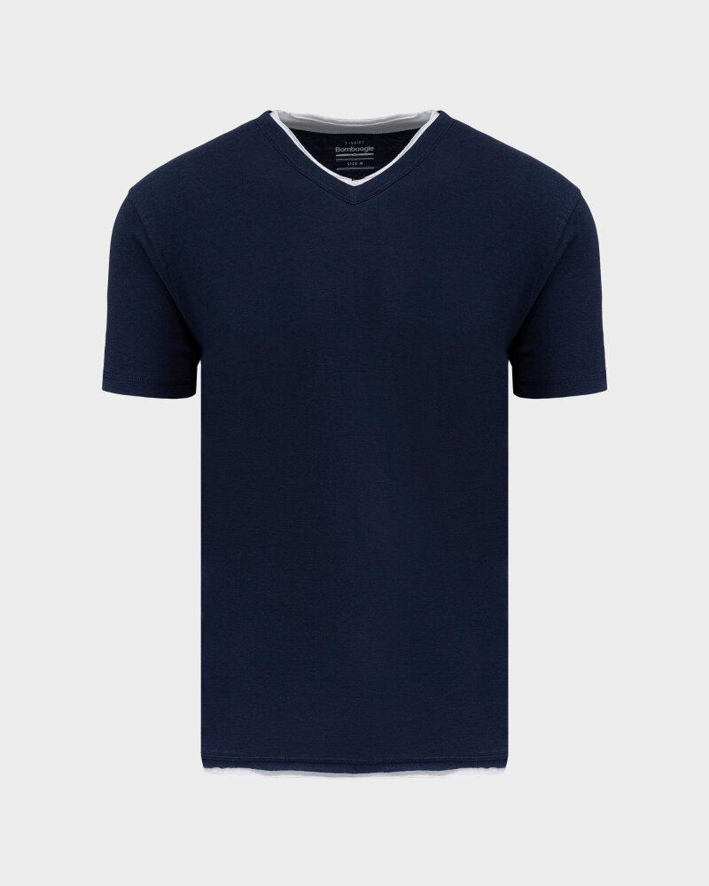 T-Shirt Bomboogie TM6355_JSNS_205 granatowy - fot:1