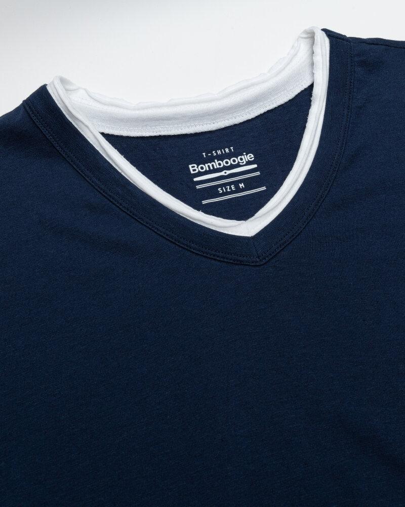 T-Shirt Bomboogie TM6355_JSNS_205 granatowy - fot:2