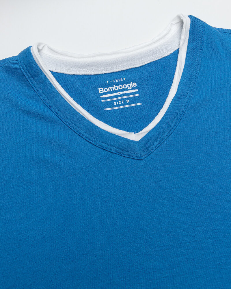 T-Shirt Bomboogie TM6355_JSNS_229 niebieski - fot:2