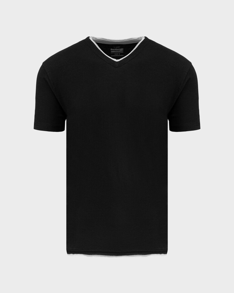 T-Shirt Bomboogie TM6355_JSNS_90 czarny - fot:1