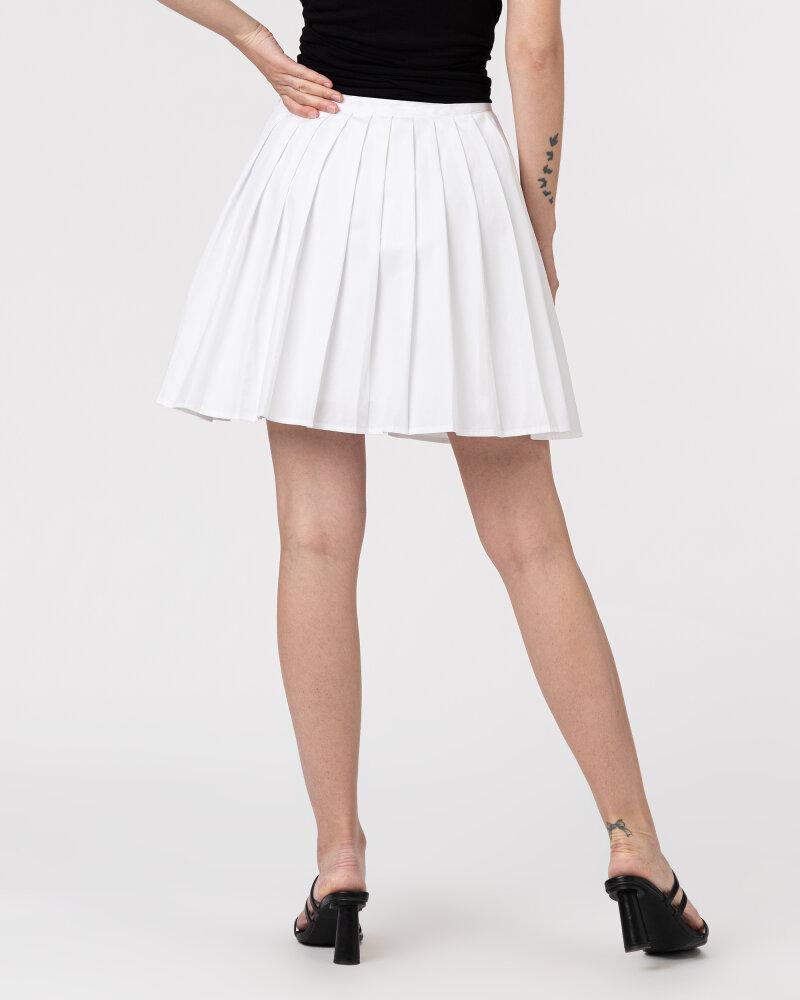 Spódnica Na-Kd 1018-006831_WHITE biały - fot:4
