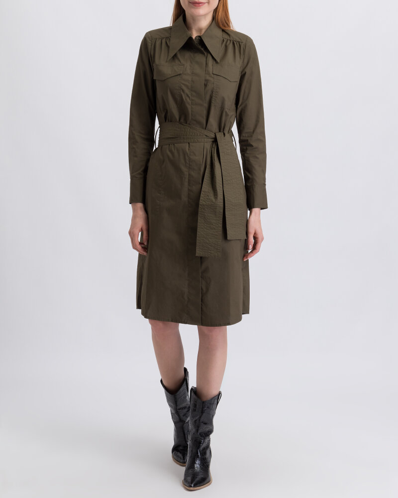 Sukienka Co'Couture 96104_7555 ciemnozielony - fot:1