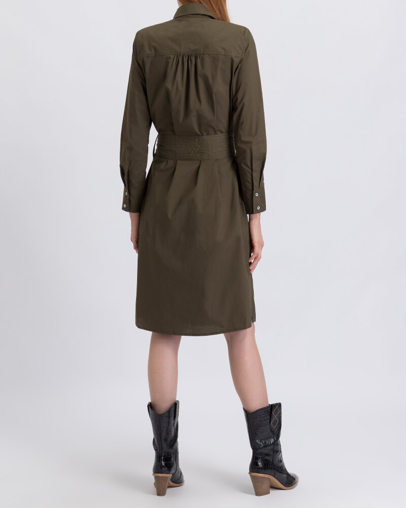 Sukienka Co'Couture 96104_7555 ciemnozielony - fot:3