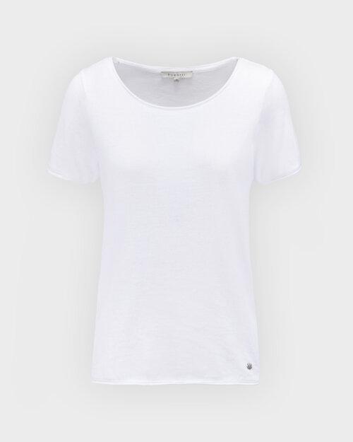T-Shirt Bugatti 42587_7 8407_010 biały