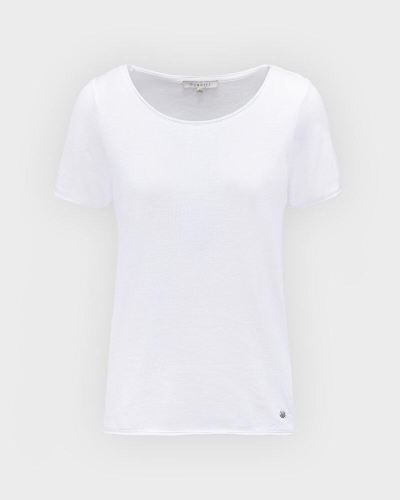 T-Shirt Bugatti 42587_7 8407_010 biały - fot:1