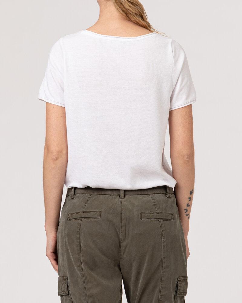T-Shirt Bugatti 42587_7 8407_010 biały - fot:4