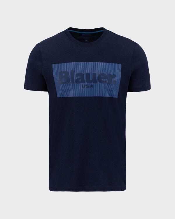 T-Shirt Blauer BLUH02133_4547_802 granatowy