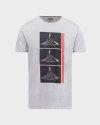 T-Shirt Bomboogie TM6982_JSEL_58 jasnoszary
