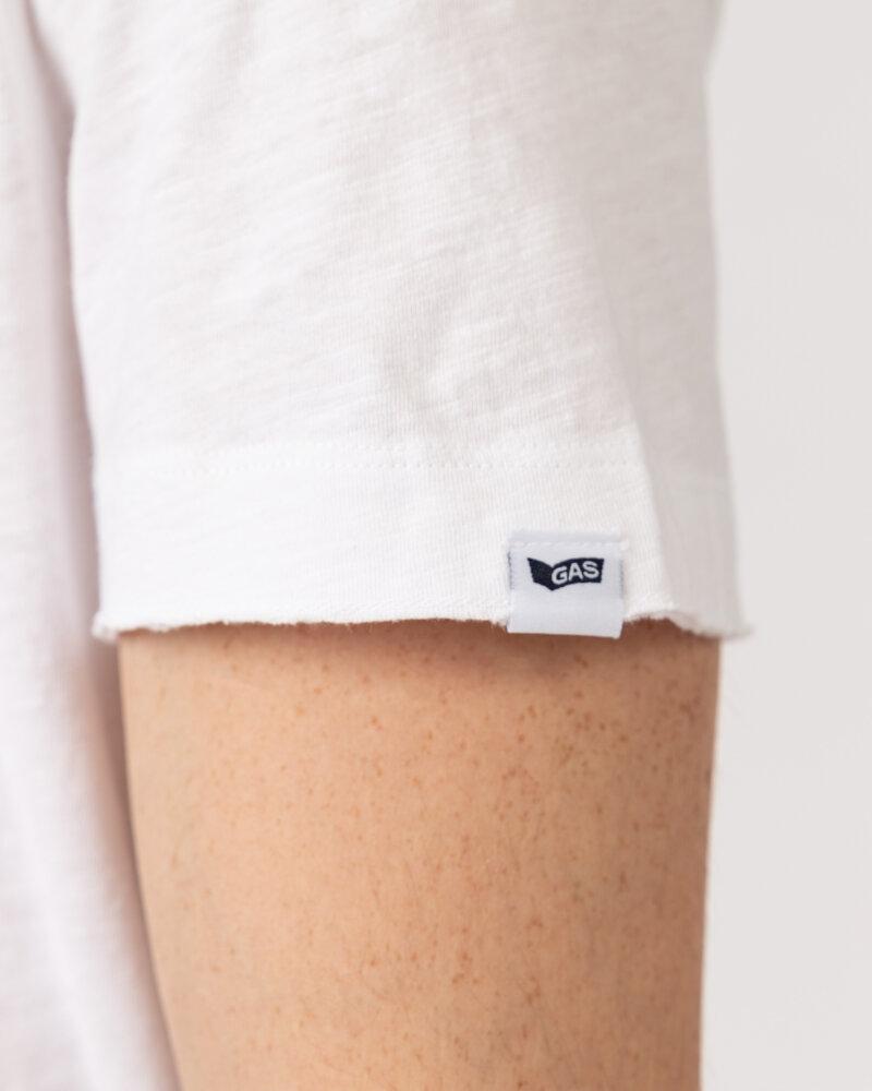 T-Shirt Gas 99635_DHIREN/S            _0001 biały - fot:4