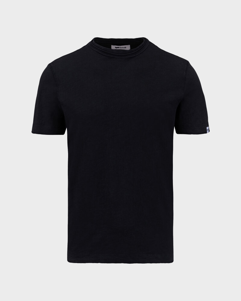 T-Shirt Gas 99635_DHIREN/S            _0200 czarny - fot:1