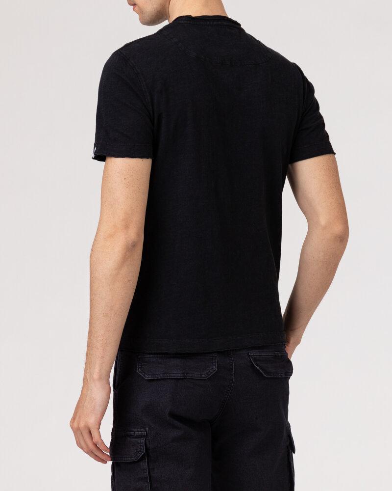 T-Shirt Gas 99635_DHIREN/S            _0200 czarny - fot:4