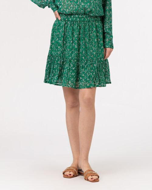 Spódnica Lollys Laundry 21134_4007_DARK GREEN zielony