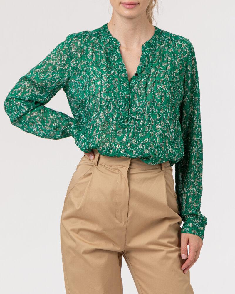 Koszula Lollys Laundry 21134_2020_DARK GREEN zielony - fot:2