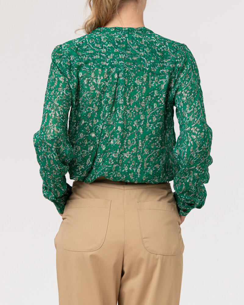 Koszula Lollys Laundry 21134_2020_DARK GREEN zielony - fot:4