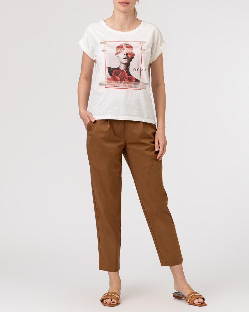 T-Shirt Bomboogie TW7019_JSNS_48 kremowy - fot:6