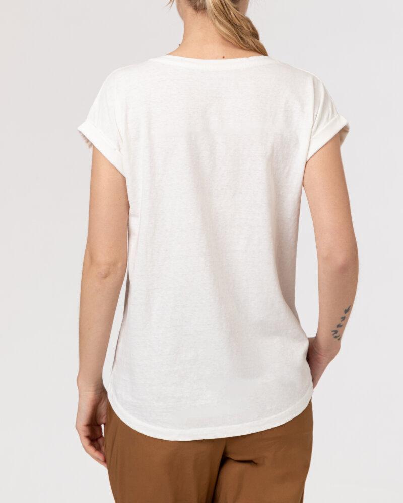 T-Shirt Bomboogie TW7019_JSNS_48 kremowy - fot:4