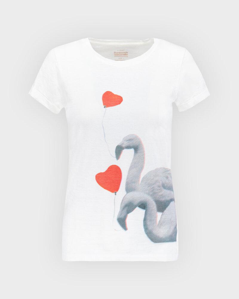 T-Shirt Bomboogie TW6990_JSNS_01 biały - fot:1