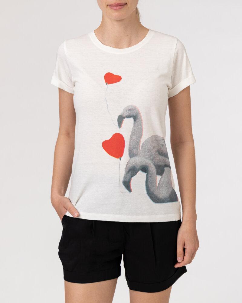 T-Shirt Bomboogie TW6990_JSNS_01 biały - fot:2