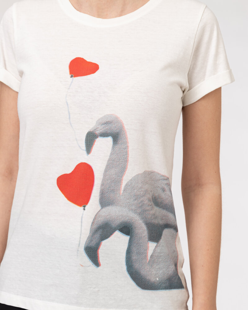 T-Shirt Bomboogie TW6990_JSNS_01 biały - fot:3