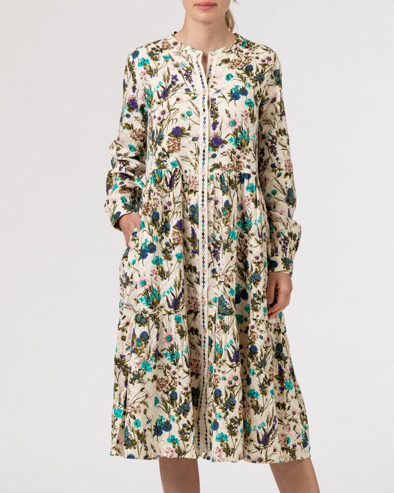 Sukienka Lollys Laundry 21175_3056_FLOWER PRINT kremowy - fot:2