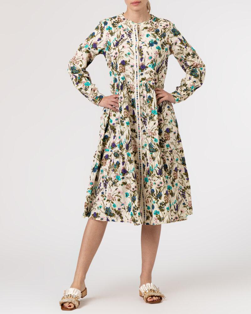Sukienka Lollys Laundry 21175_3056_FLOWER PRINT kremowy - fot:5